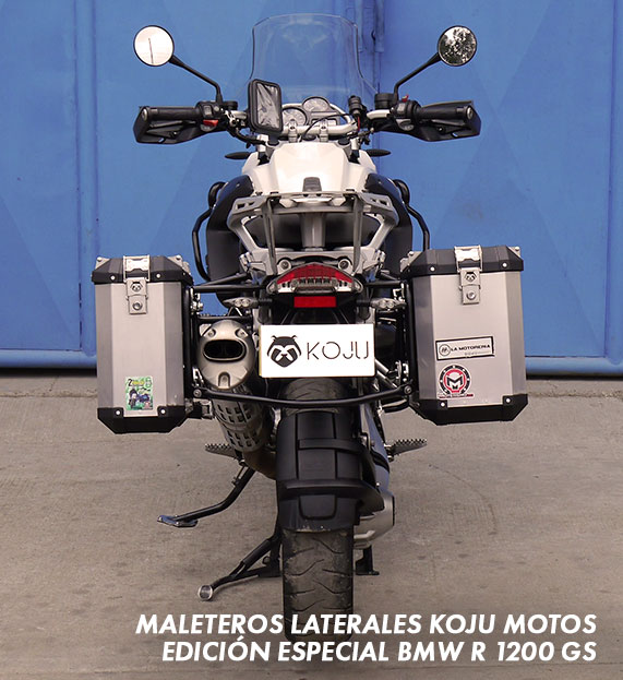 BMW R 1200 GS Maleteros laterales edición especial Koju Motos más modelos