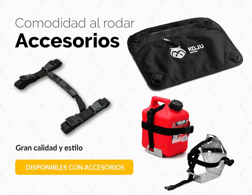 Categoría accesorios para moto koju motos adventure bag